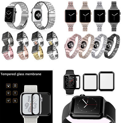 Acero Inoxidable Reloj Correa Band para Apple Watch Series 1/2/3/4 38/42/40/44mm