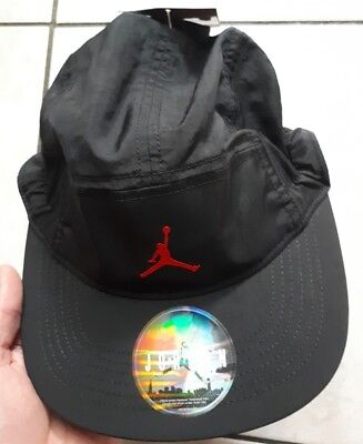 Jumpman Jordan Nike 5 Casquette Panel Blackred 918441 cap Air Hat qwtSUSTE