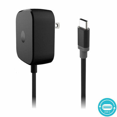 OEM Turbo Power 15 USB-C / Type C Fast Charger For Motorola Moto Z Force Droid