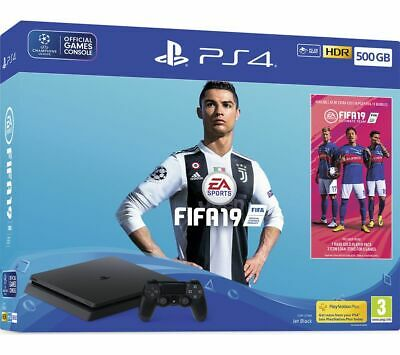 SONY PlayStation PS4 with FIFA 19 - 500 GB - Currys