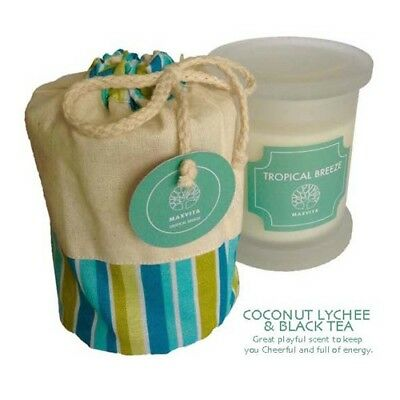 Soy Candle | Maxvita | Coconut Lychee & Black Tea | Cheerful and Energizing