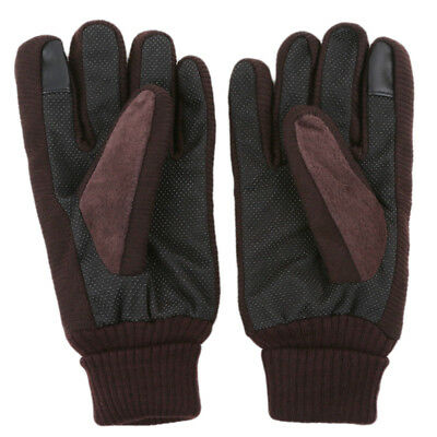 Fashion Waterproof Men's Women' Ski Warm Gloves Motorcycle Driving Gloves B