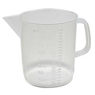Polypropylene Low-Form Beaker with Handle 2000mL