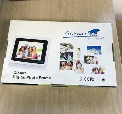 NEW x1 GALLOPER GD-001 DIGITAL PHOTO FRAME
