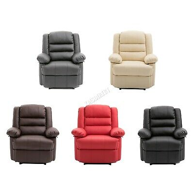 WestWood Recliner Sofa Chair Armchair Luxury Seater PU Leather Cinema RS04
