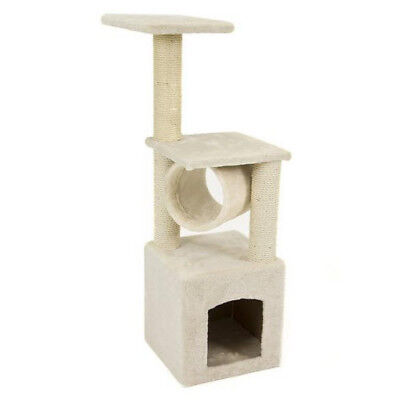 NEW Deluxe Level Scratching Post Cat Tower Tree Activity kitty Condo Furniture