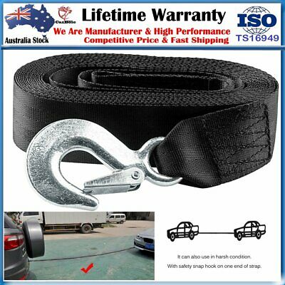 """3300 Lbs Deluxe Boat PWC Trailer Replacement 2""""X20' Winch Strap With Snap Hook"""