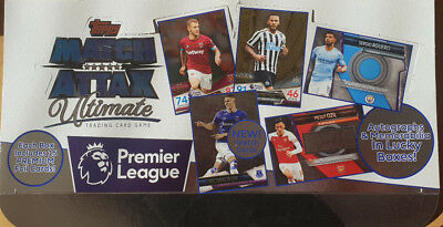 Topps Match Attax Ultimate 2018 2019 base cards Premier League