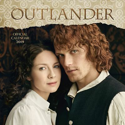 Official 2019 Outlander Square Calendar Gift Present Wall Hanging