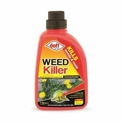 Doff Glyphosate Weed Killer Concentrate  Kills Weed & Roots No Residue 1Litre