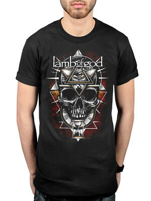 Official Lamb Of God Seeing Red T-Shirt Ashes Of The Wake Burn The Priest Rock