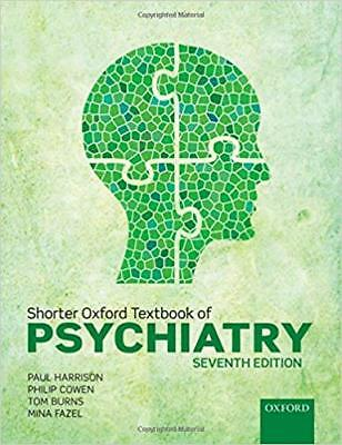 [PDF] Shorter Oxford Textbook of Psychiatry 7th Edition by Paul Harrison