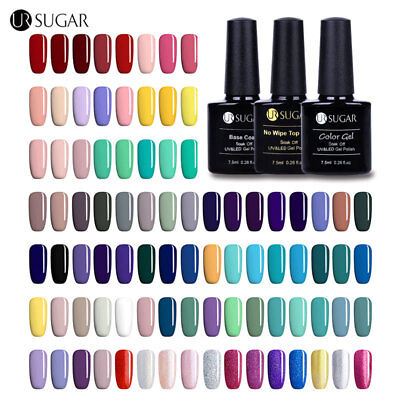 UR SUGAR Smalto Gel UV Unghie Soak Off Nail Art Top Base Coat UV Gel Polish