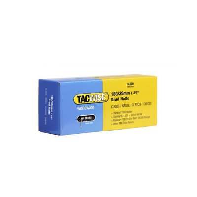 Tacwise 18G/35mm Brad Nails (Box of 5000) 0399
