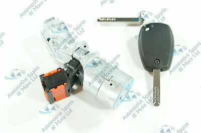 Renault Clio Modus Master Trafic New Ignition Lock Barrel Starter Switch Keys