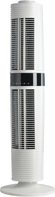 NEW DeLonghi DETF122WH Dual Oscillating Tower Fan White