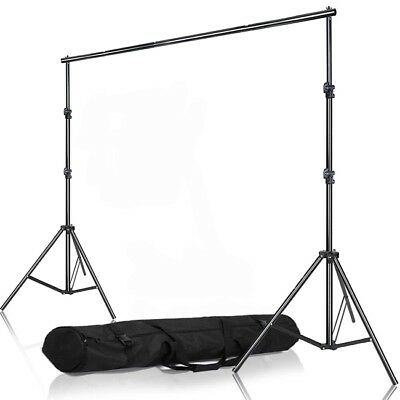 Photo Backdrop Background Support System Stand Crossbar Kit Adjustable 2m*2m