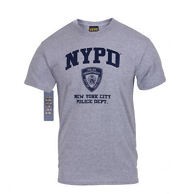 US NEW YORK NYPD POLICE DEPARTMENT OFFICIALLY LICENSED Polizei SPORT SHIRT S