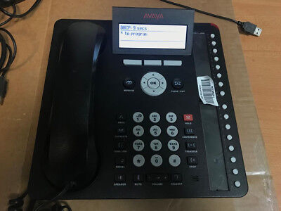 Avaya 1616-I Voip Handset POE Excellent Condition x 2