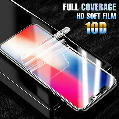 Hydrogel Film Screen Protector Front Back Skin For iPhone X XR XS Max 6s 7 8