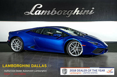2017 Lamborghini Huracan  AD PERSONAM+CCB+LIFT SYS+SENSONUM+POWER/HEATED SEATS+BICOLOR+CRUISE CONTROL