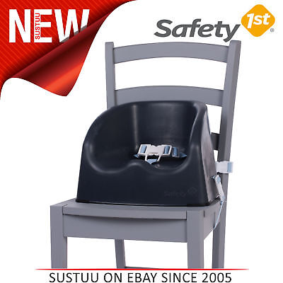 Safety 1st Essential Booster Seat│Kid's Safe Portable Chair│Indoor/Outdoor│Black