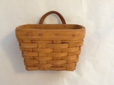 "Longaberger 1993 Ambrosia Hostess Booking Basket - Just under 6"" x 4"" x 4""  EUC"