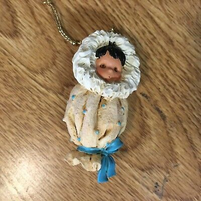 Friends of the Feather-Papoose Ornament