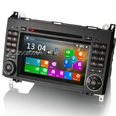 "Car SatNav 7"" Mercedes Vito Sprinter Viano DVD Bluetooth GPS DAB+ Canbus DVR USB"