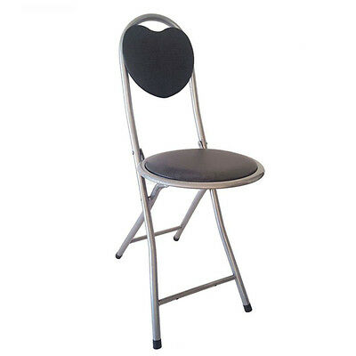 Tremendous Dlux Small Strong Folding Chair W Heart Shaped Back Cjindustries Chair Design For Home Cjindustriesco
