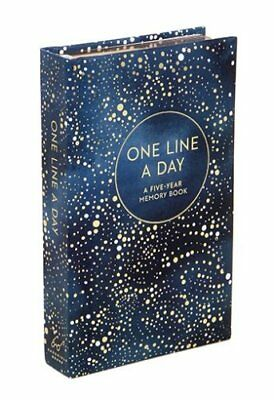 One Line a Day : A Five-Year Memory Book (2017, Print, Other)