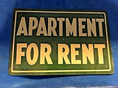 Not Reproduction Vintage Garage For Rent Inquire Unused Old Store Stock Sign