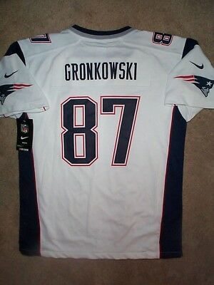 IRREGULAR  New England Patriots ROB GRONKOWSKI nfl NIKE Jersey Youth (xl) dbe8b07ba