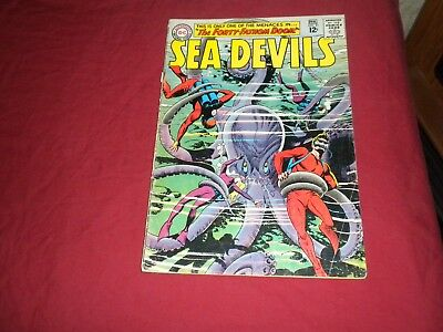 Sea Devils #21 dc 1965 silver age 5.5/6.0 comic! Lots of Sea Devils listed! WOW!