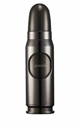 Scorch Torch Lighter Single Jet flame Black windproof refillable Bullet Missile