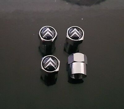 Lot 4 Bouchons De Valves Citroen