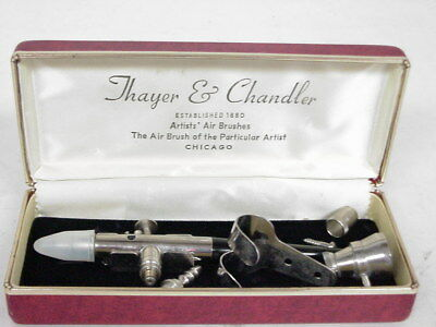 Thayer & Chandler Artists' Airbrush & Accessories w/Case, No. 09966A