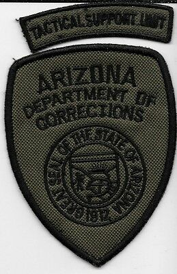 Arizona Dept Of Correction Swat Tact Set Az Doc Jail Prison Subdued Lot Of 2