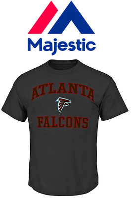 new product bc2e5 eb128 MENS BIG AND Tall Majestic Atlanta Falcons Tee Shirt NFL -3XLT-  Charcoal/Heather