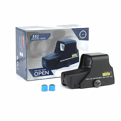 Sabre Tactical Holographic Sight Weapon Scope Red & Green Dot Clone 551
