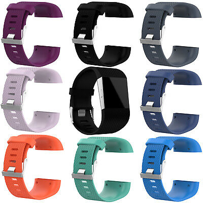 Silicone Wristband Replacement Band Strap for Fitbit Surge Fitness Tracker Hi-Q