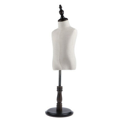 Adjustable Kids Mannequin Torso Dress Form Display Body w/ Tripod Stand S