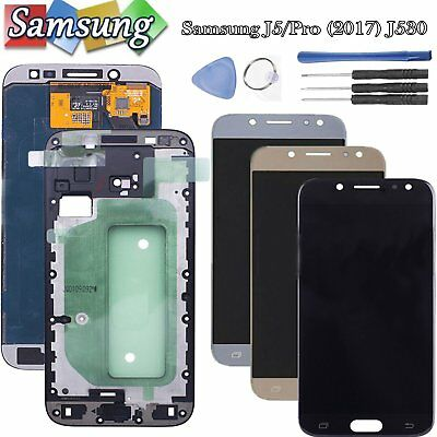 For Samsung Galaxy J5 J5 Pro (2017) J530 LCD Display Touch Screen Glass Frame
