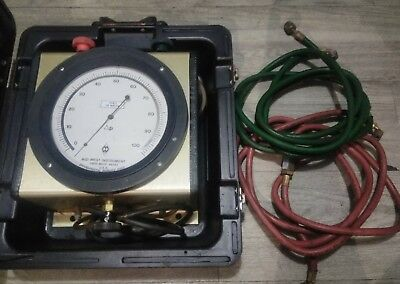 Midwest Instrument # 809 Flow Differential pressure Test Kit 100 feet 450PSIG