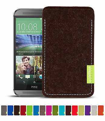 Wildtech Sleeve HTC One M9 & M8 Case Protective Felt Cover Mobile Phone