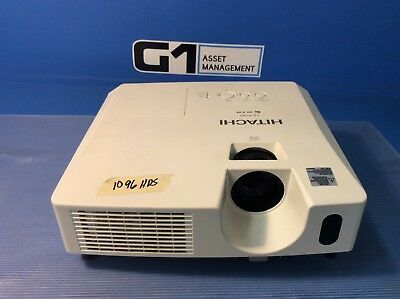 Hitachi CP-RX80 LCD Projector 1080i 2200 Lumens 1699 Lamp Hours