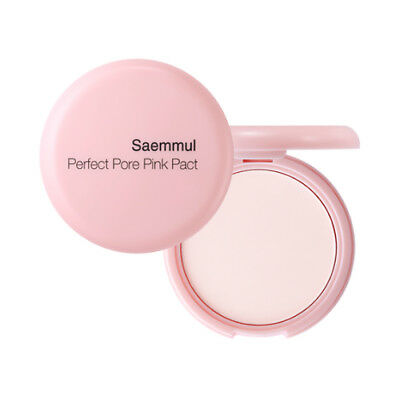 [THESAEM] Saemmul Perfect Pore Pink Pact - 11g / Free Gift