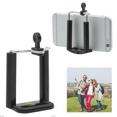 Camera Stand Clip Bracket Holder Monopod Tripod Mount Adapter for Cell Phone TOP