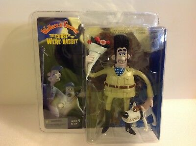 McFarlane Wallace & Gromit The Curse of the Were-Rabbit Victor Quartermaine. New