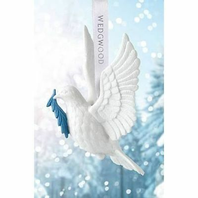Wedgwood 2018 Holiday Ornaments Figural Dove